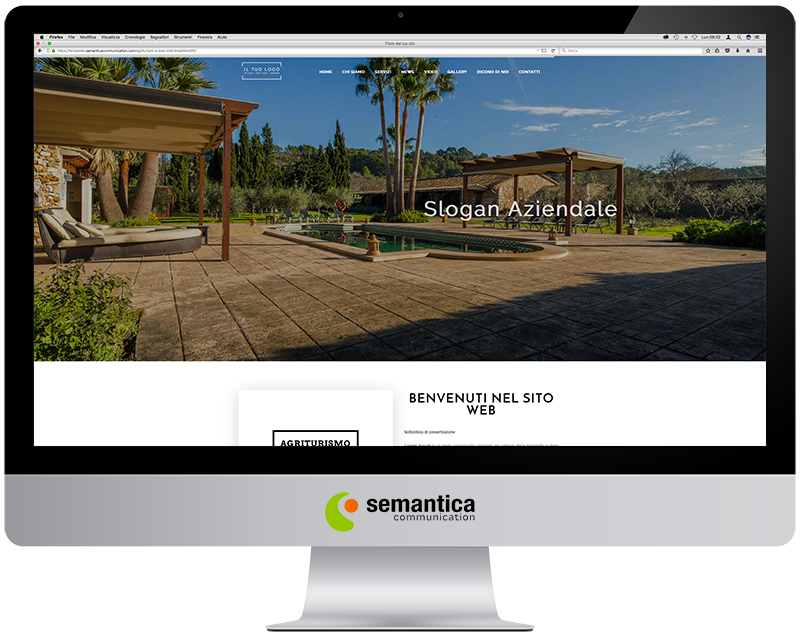 Agriturismi e Bed and Breakfast » Template 05